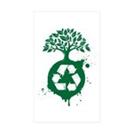 Recycle Sticker (Rectangle 10 pk)