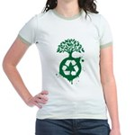 Recycle Jr. Ringer T-Shirt