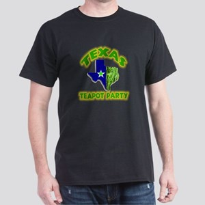 Texas Teapot Party Dark T-Shirt