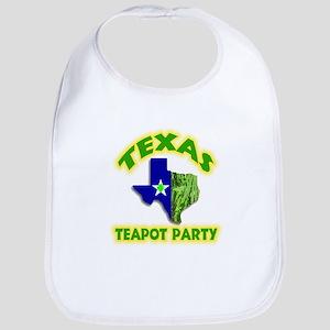 Texas Teapot Party Bib