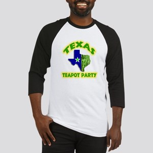 Texas Teapot Party Baseball Jersey