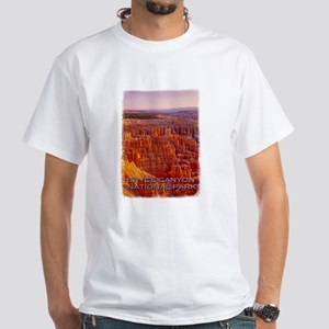 Bryce Canyon National Park White T-Shirt