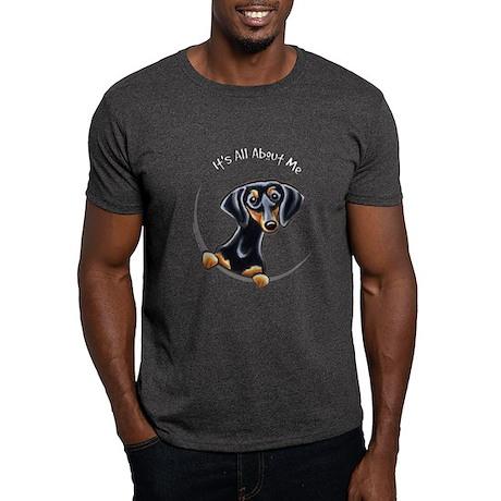 Black Tan Dachshund Dark T-Shirt