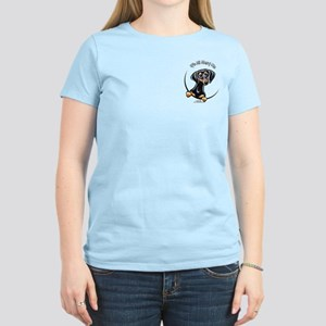 B/T Dachshund IAAM Pocket Women's Light T-Shirt