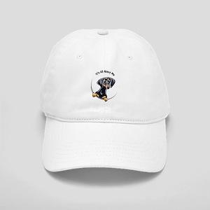 Black Tan Dachshund Cap