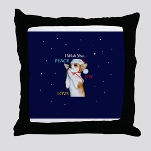 Dott Love Joy & Peace Throw Pillow