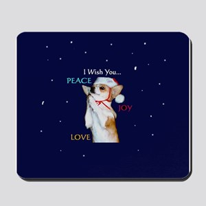 Dott Love Joy & Peace Mousepad