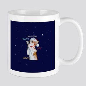 Dott Love Joy & Peace Mug
