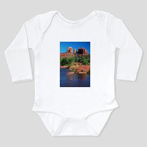 Cathedral Rock, Sedona Long Sleeve Infant Bodysuit
