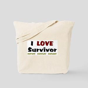 Survivor fan Tote Bag