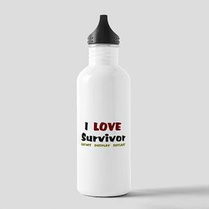 Survivor fan Stainless Water Bottle 1.0L