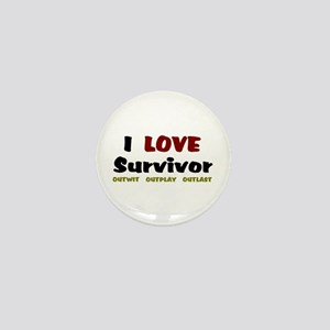 Survivor fan Mini Button