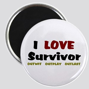 Survivor fan Magnet