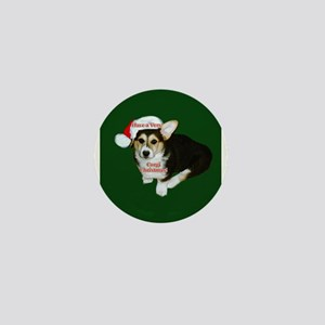 Have a Very Corgi Christmas Mini Button