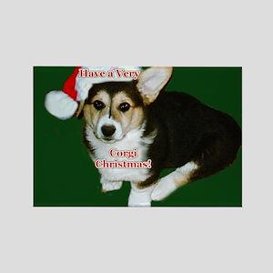 Have a Very Corgi Christmas Rectangle Magnet