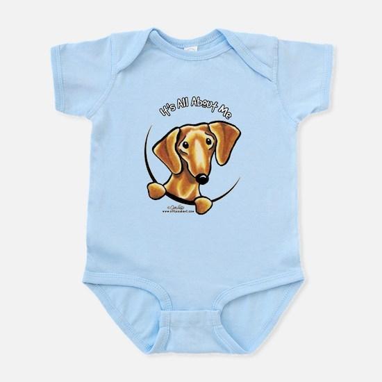 Red Dachshund IAAM Infant Bodysuit