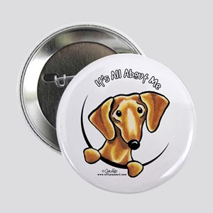 "Red Dachshund IAAM 2.25"" Button"