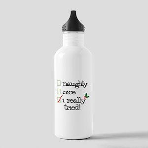 Checklist Stainless Water Bottle 1.0L