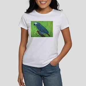 African Grey Parrot Women's T-Shirt