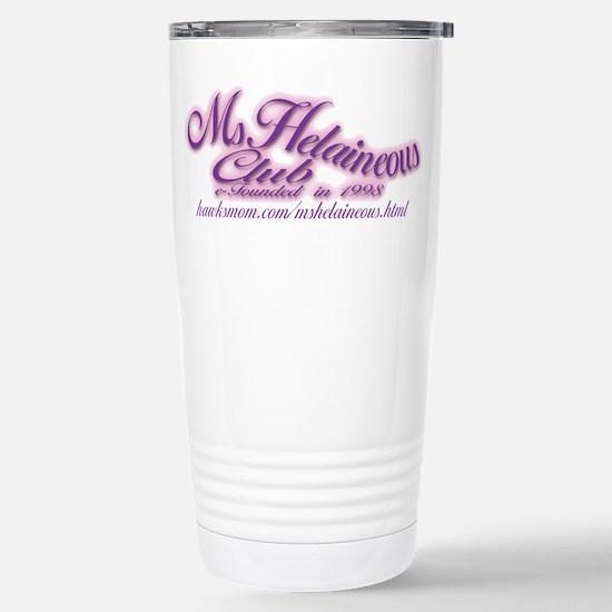 MsHelaineous Club Stainless Steel Travel Mug