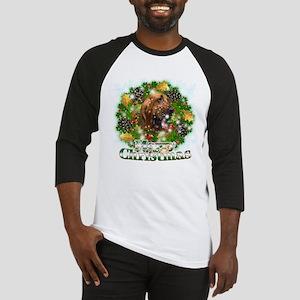 Merry Christmas Bloodhound Baseball Jersey