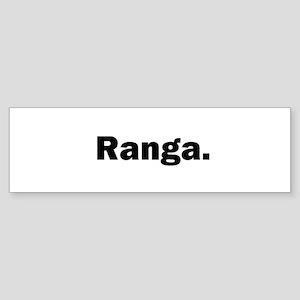ranga2 Bumper Sticker