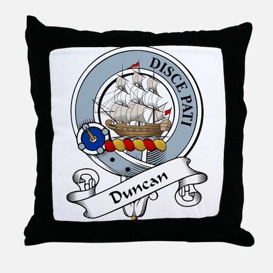 Duncan Clan Badge Throw Pillow