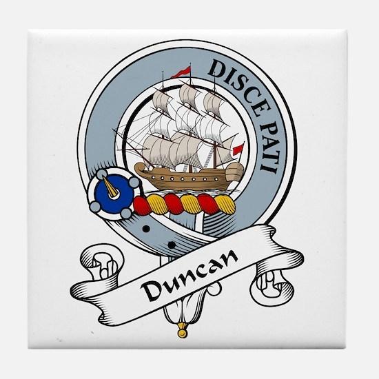 Duncan Clan Badge Tile Coaster