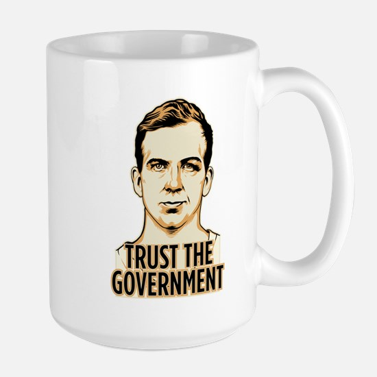 Trust Government Oswald Editi Large Mug