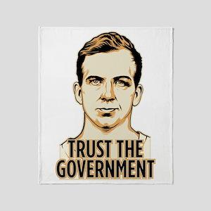 Trust Government Oswald Editi Throw Blanket