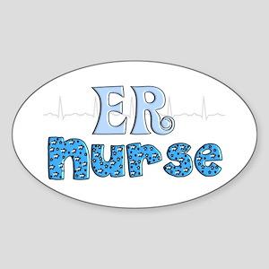 Registered Nurse Specialties Sticker (Oval)