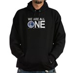 """We Are All One"" Hoodie (dark)"