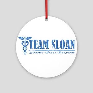 Team Sloan SGH Ornament (Round)