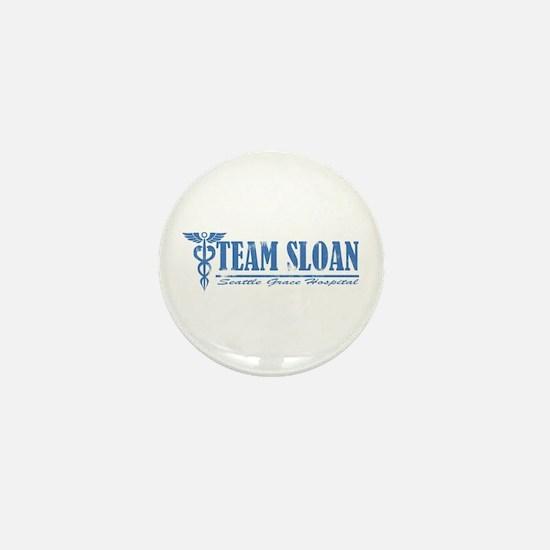 Team Sloan SGH Mini Button