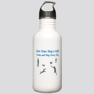 Give Your Dog A Gift Stainless Water Bottle 1.0L