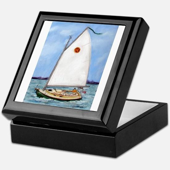 Catboat Keepsake Box