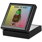 Born to Golf (#2) Keepsake Box
