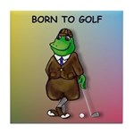 Born to Golf (#2) Tile Coaster
