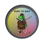 Born to Golf (#2) Wall Clock