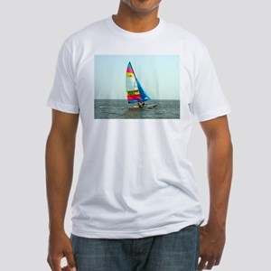 Hobie Cat Fitted T-Shirt