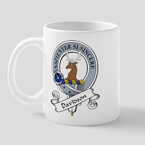 Davidson Clan Badge Mug