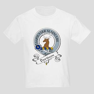 Davidson Clan Badge Kids T-Shirt