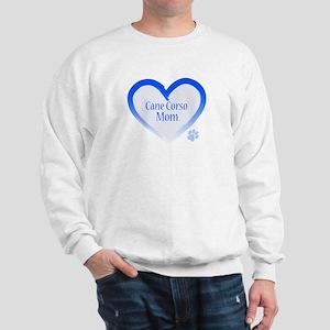 Cane Corso Blue Heart Sweatshirt