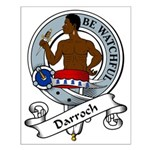 Darroch Clan Badge Small Poster
