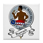 Darroch Clan Badge Tile Coaster