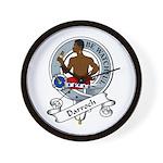 Darroch Clan Badge Wall Clock