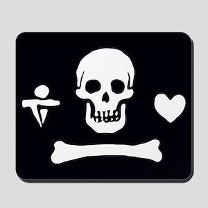 Stede Bonnet Pirate Flag Mousepad