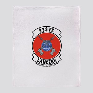 333d Throw Blanket