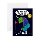Be the ball (#2) Greeting Cards (Pk of 10)