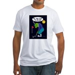 Be the ball (#2) Fitted T-Shirt